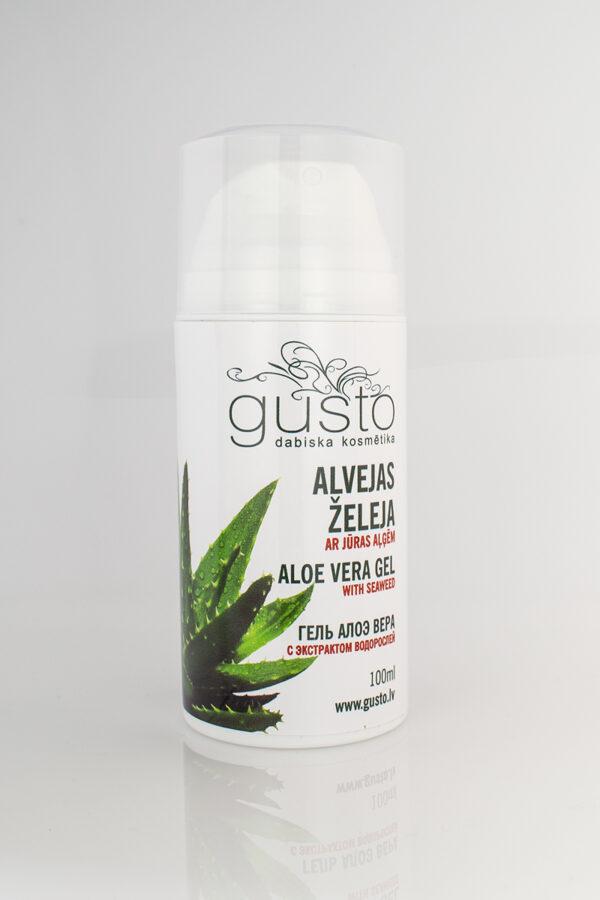Aloe Vera gel enriched with seaweed