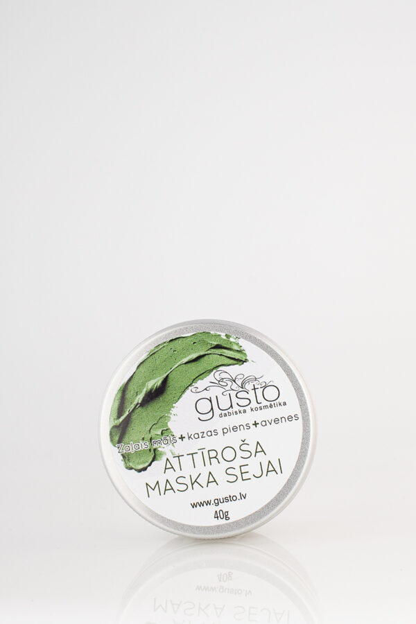 Deeply cleansing face mask