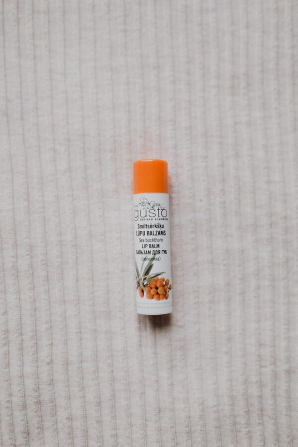 Sea buckthorn lip balm